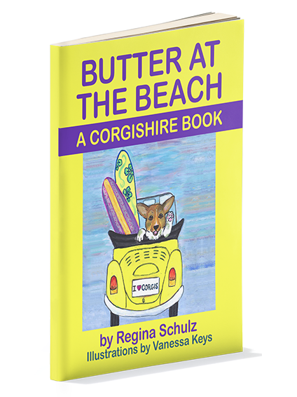 Butter at the Beach (The Corgishire Book Series)